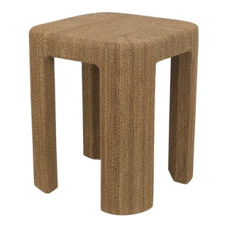 Corso End Table, Natural For Sale
