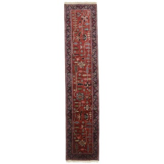 "RugsinDallas Persian Style Hand-Knotted Runner - 2'7"" X 12'1"" For Sale"