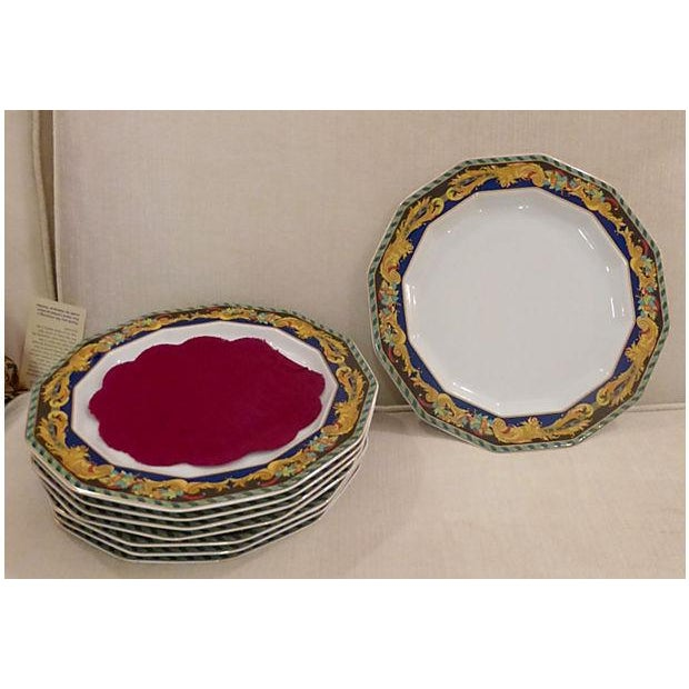 Rosenthal for Versace Plates - Set of 8 - Image 9 of 9
