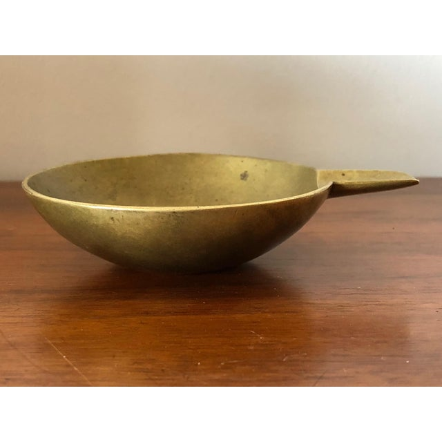 Carl Auböck A Carl Aubock Brass Ashtray Ca' 1950's For Sale - Image 4 of 8