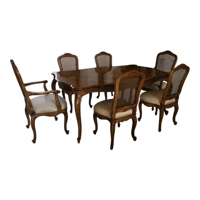 Henredon French Provincial Dining Room Set - S/7 - Image 1 of 7