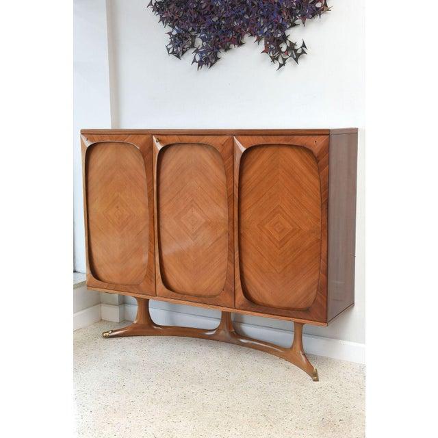 Italian Fine Italian Three-Door Credenza, Dassi For Sale - Image 3 of 9