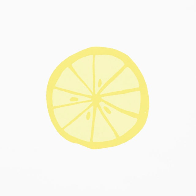 Contemporary Schumacher X Vera Neumann Lemonade Wallpaper in Lemon For Sale - Image 3 of 5