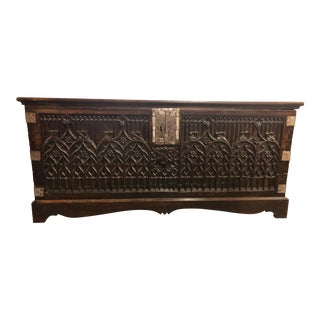 French Gothic Chest For Sale