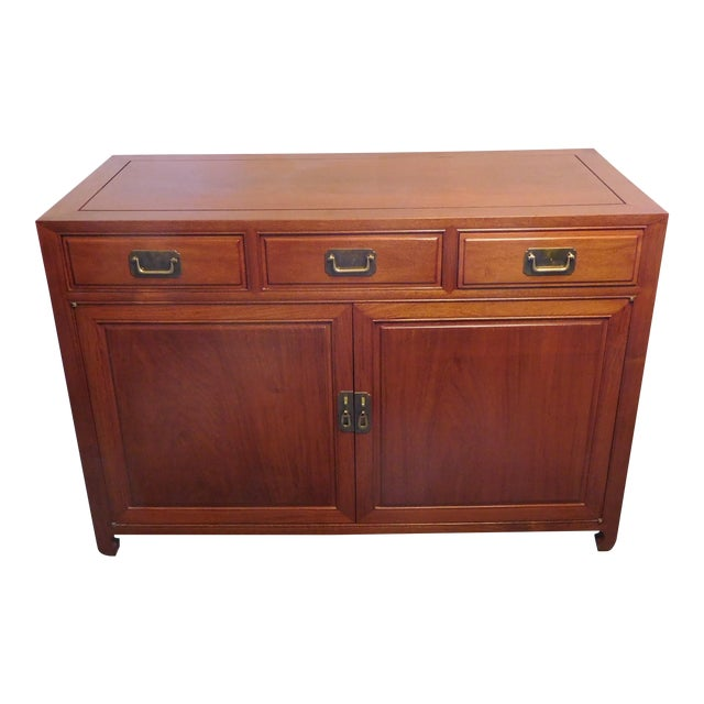 Vintage Chinese Rosewood Buffet - Image 1 of 9