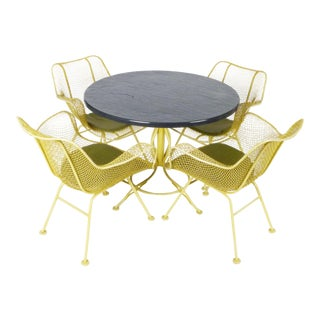 "Russell Woodard ""Sculptura"" Patio Set - Set of 5 For Sale"