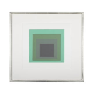 "Josef Albers ""Homage to the Square"" From Formations: Articulation 1972 Silkscreen Prints, Folio II Folders 13 For Sale"