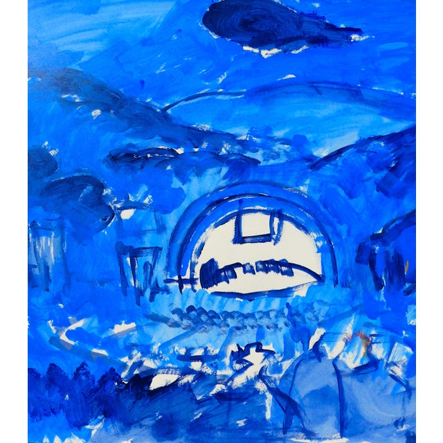 Hollywood Bowl Summer Night Concert Painting - Image 5 of 5