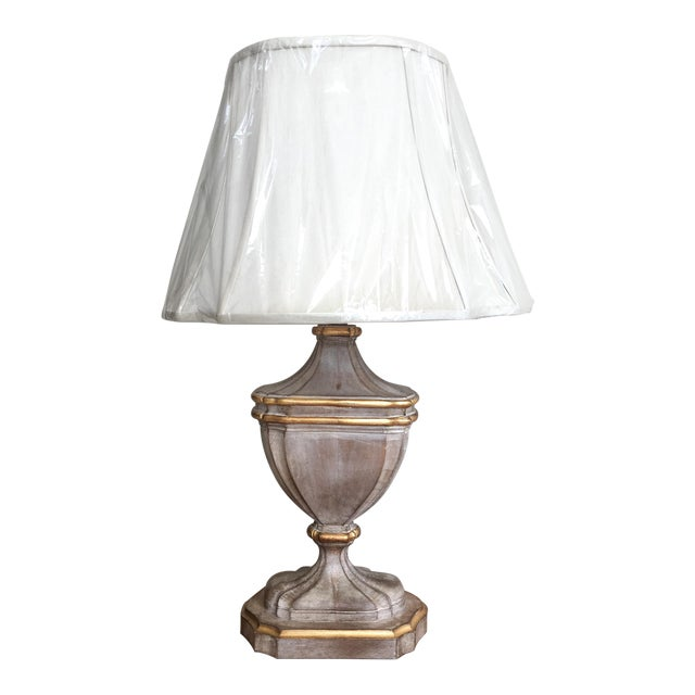Bradburn Gallery French-Style Urn Lamp with Shade For Sale