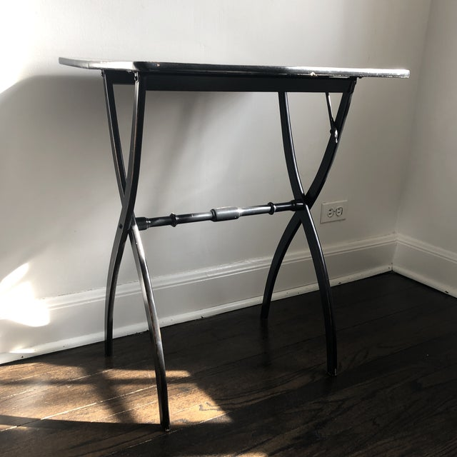 19th Century French Officer's Side Table For Sale - Image 11 of 12