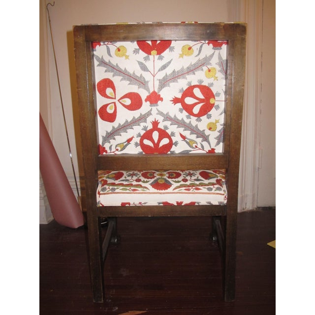 Suzani Upholstered Armchairs - A Pair - Image 5 of 10