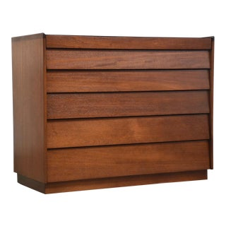 Edward Wormley for Dunbar Mahogany Dresser Chest For Sale
