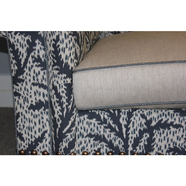 Robert Allen Modern Robert Allen Duralee Group Tufted Back Hutana-Sofa For Sale - Image 4 of 6