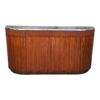 Ralph Lauren Modern Metropolis Demilune Sideboard For Sale