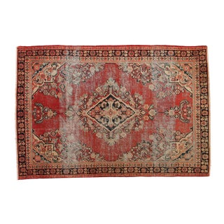 "Vintage Mahal Rug - 4'3"" X 6'3"" For Sale"