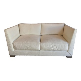 Modern Donghia Contemporary Love Seat For Sale