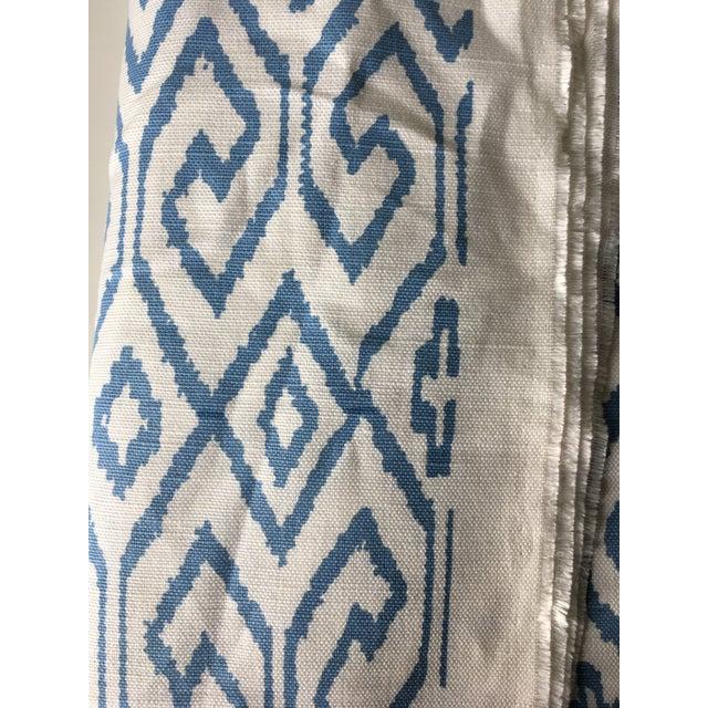 2.3 Yards Quadrille China Seas Aqua IV Fabric For Sale - Image 4 of 6