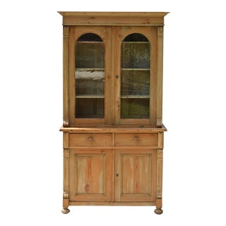 19th Century Pine Cupboard of a Diminutive Size For Sale