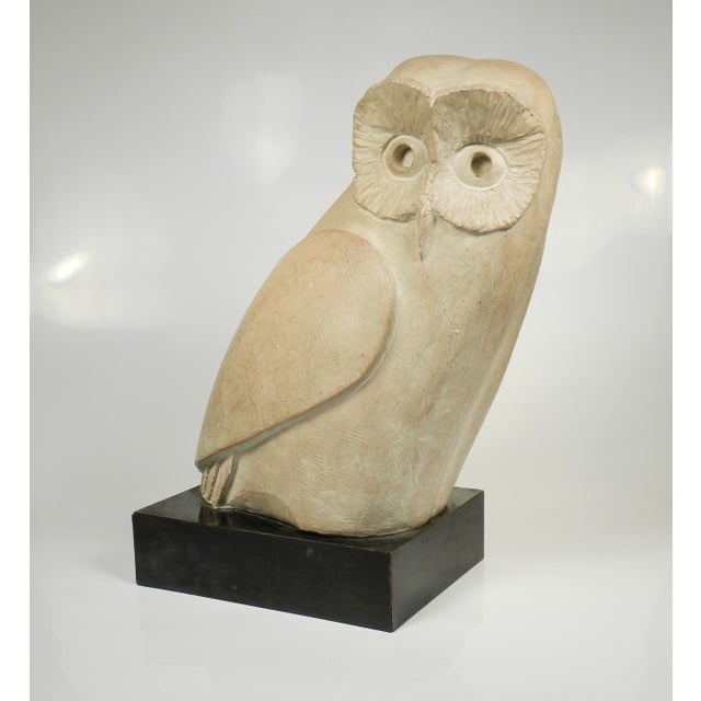 Vintage Mid-Century Austin Productions Owl Sculpture - Image 5 of 6
