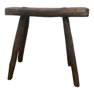 19th Century Antique Milking Stool For Sale