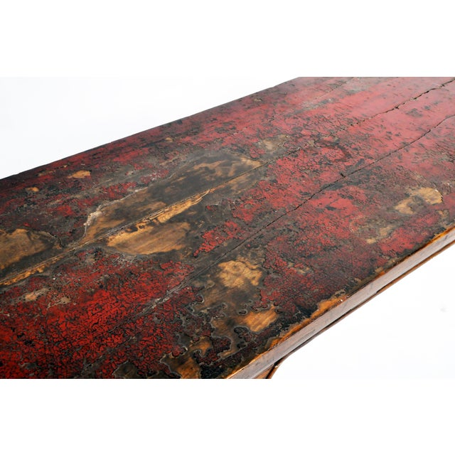 Late Qing Dynasty Chinese Altar Table For Sale - Image 10 of 13