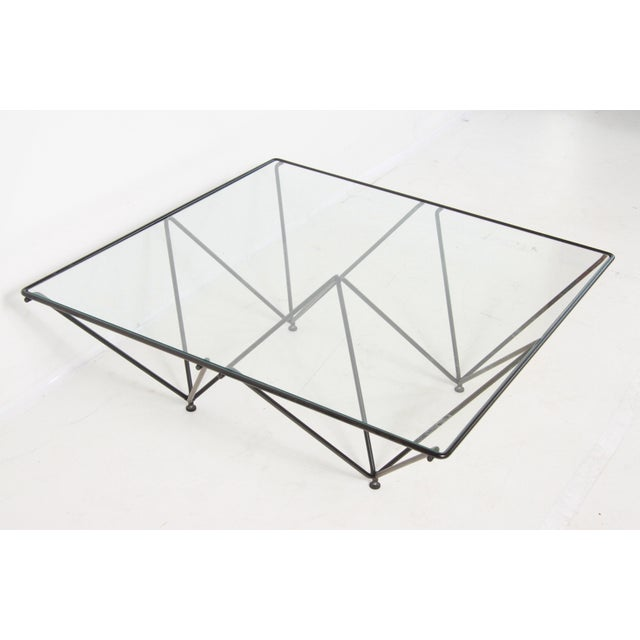 1980s Paolo Piva Alanda Style Coffee Table For Sale - Image 11 of 11