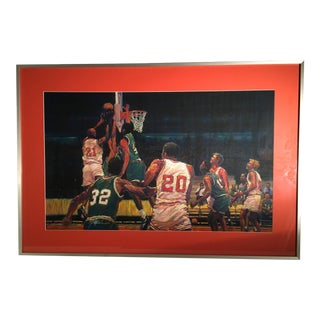 Celtics Basketball Painting For Sale