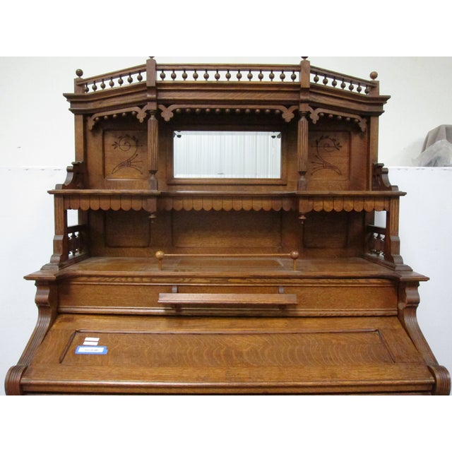 Traditional Loring & Blake Palace Organ For Sale - Image 3 of 10
