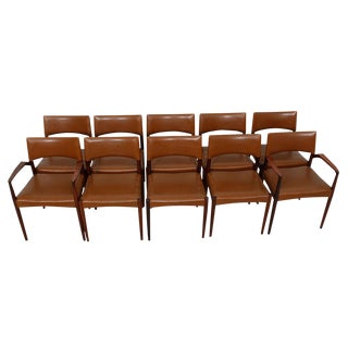 Danish Modern Rosewood Dining Chairs - Set of 10