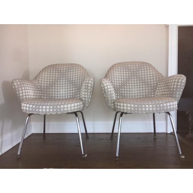 Saarienen Knoll Chairs - A Pair - Image 9 of 9