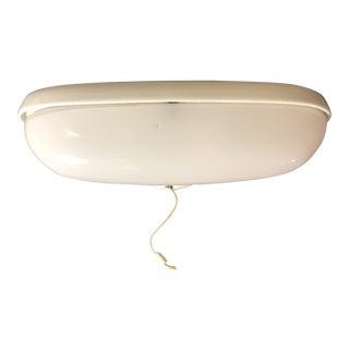 White Wilhelm Wagenfeld Porcelain Wall Light For Sale
