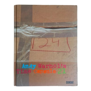""" Andy Warhol's Time Capsule 21 "" Rare 1st Edition Collector's Hardcover Exhibition Book For Sale"