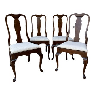 Vintage Pennsylvania House Cherry Dining Room Chairs - Set of 4 For Sale