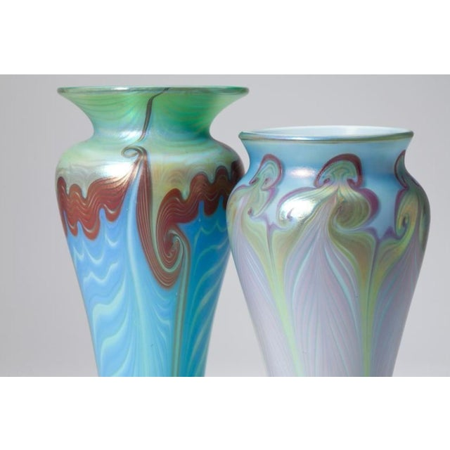 Vandemark Art Glass Vases- Set of 2 - Image 3 of 5