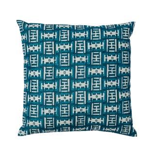 Ferrick Mason Mr. Rowe Outdoor Custom Peacock Pillow For Sale