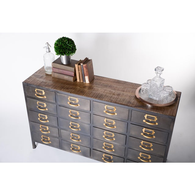 Vintage Card Catalog Inspired Library Cabinet Chairish