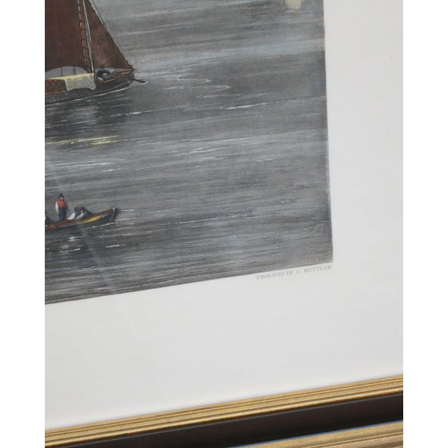 New York Harbor Print by Jw Hill For Sale In New York - Image 6 of 8