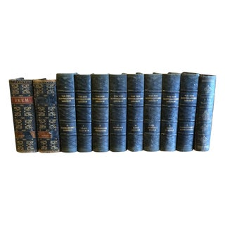 Old Danish Books - Set of 11