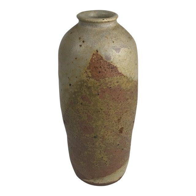 Mid Century Modern Studio Pottery Stoneware Vase Chairish