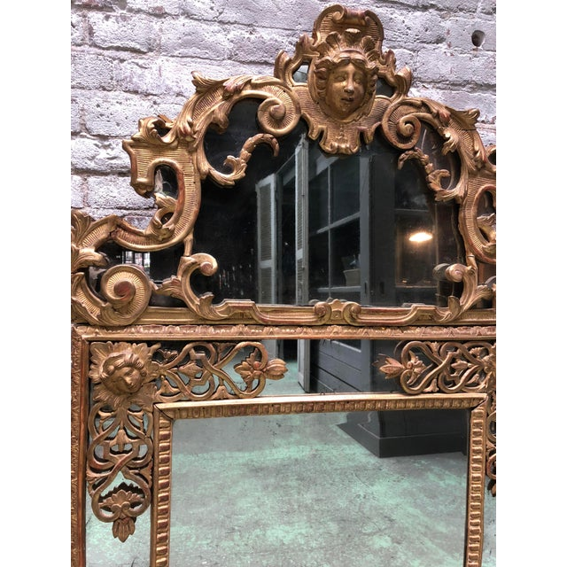 Magnificent Régence Mirror For Sale - Image 11 of 13