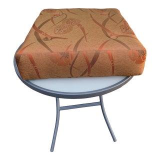 Floor Cushion in Silk Custom Design From Sloan Miyasato For Sale