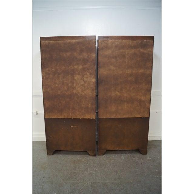Ethan Allen Ethan Allen Georgian Court Cherry Bookcases - Pair For Sale - Image 4 of 10