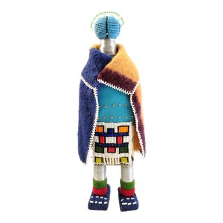 Vintage African Beaded Ndebele Doll