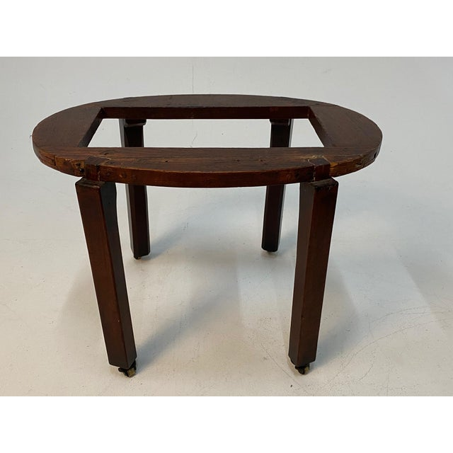 Metal 19th Century English Georgian Style Mahogany Cellarette on Stand For Sale - Image 7 of 11