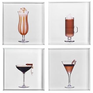 """""""Coffee Break"""" Limited Edition Cocktail Portrait Photographs - Set of 4 For Sale"""
