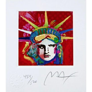 Peter Max Liberty Head IV 2003 For Sale