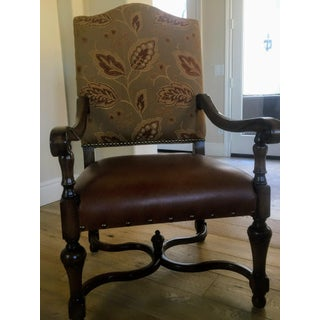 Spanish Louis XIV Style Arm Chair Preview