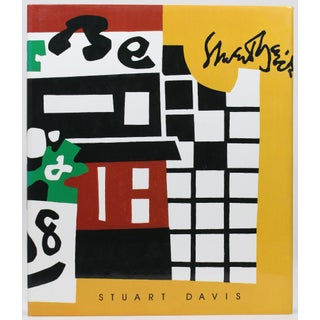 First Edition 'Stuart Davis' Book