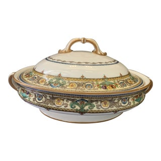 Antique Minton China Soup Tureen For Sale