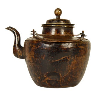 Chinese Antique Mongolia Milk Tea Pot For Sale
